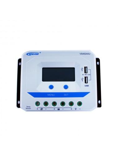 Regulador PWM EPEVER VS4524AU VS4524AU_TECNOSOL
