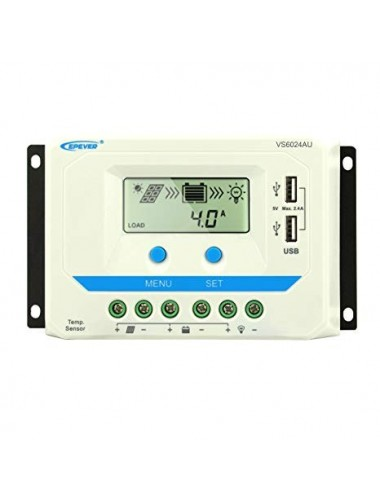 Regulador VS6024AU EPEVER EPSOLAR PWM_tecnosol
