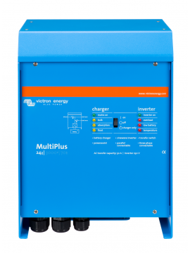 Inversor cargador Victron Multiplus C24/1600/40 - TECNOSOL