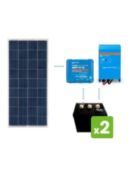 KIT Solar 600Wh/día DC POWER de TECNOSOL