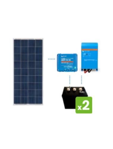 KIT Solar 600Wh/día DC POWER de TECNOSOL