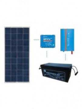 KIT solar premium 600Wh/día batería AGM - TECNOSOL