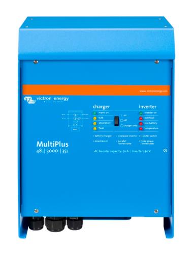 Inversor cargador Victron Multiplus 48/3000/35 de tecnosol