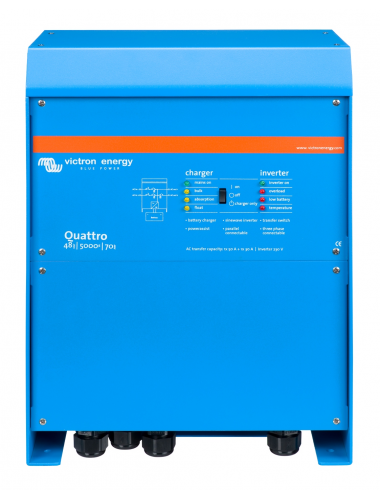 Inversor cargador Victron Quattro 48/5000/70 - tecnosol