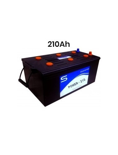 Batería Monoblock SCL 210ah  - tecnosol