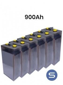 Batería estacionaria modelo 5 POPzS 625 900Ah 6 vasos - Tecnosol