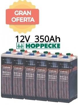Bateria estacionaria HOPPECKE 5 OPzS 250 12V 363Ah - gran oferta - tienda online TECNOSOL