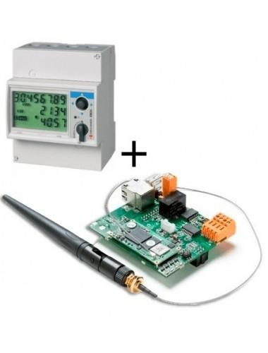 kit autoconsumo INGETEAM  ems board y vatimetro em24din injección cero hasta 65A - en tienda online TECNOSOL