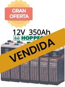 vendida - Bateria estacionaria HOPPECKE 5 OPzS 250 12V 363Ah - gran oferta - tienda online TECNOSOL
