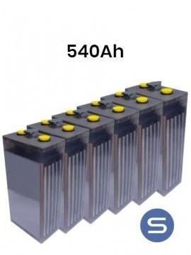 Batería estacionaria 5 POPzS 400 540Ah 6 vasos - Tecnosol