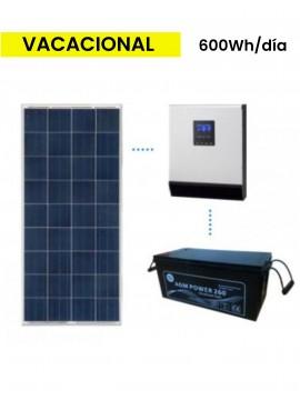 KIT SOLAR BASICO 600Wh/día AGM  - a la venta en TECNOSOL Albacete