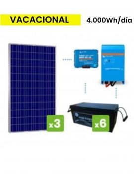 KIT SOLAR PREMIUM 4000Wh/día AGM - tecnosol Albacete