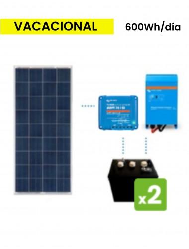 KIT Solar 600Wh/día DC POWER de TECNOSOL Albacete