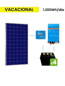 KIT solar premium 1200Wh/día batería DC Power de TECNOSOL Albacete