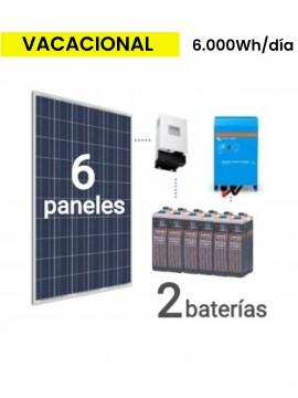 KIT SOLAR PREMIUM 6000Wh/día ESTACIONARIA -  Tecnosol Albacete