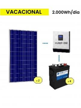 Kit Solar basico 2000 DC POWER - venta en tienda online Tecnosol Albacete