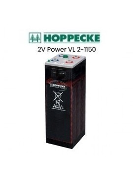 1 VASO 2V Batería Hoppecke Power VL 2-1150 1520Ah