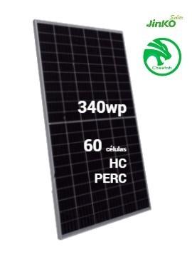 Placa Solar JINKO Cheetah 340Wp Half Cell PERC (60células) - TECNOSOL