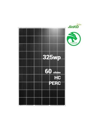 Placa Solar JINKO Cheetah 325Wp Half Cell PERC (60células) - TECNOSOL