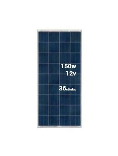 Placa Solar SCL 150Wp 12V (36 células) - a la venta en TECNOSOL