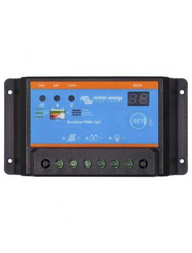 Regulador VICTRON BlueSolar PWM Light 12/24V - 30A a la venta en tecnosol