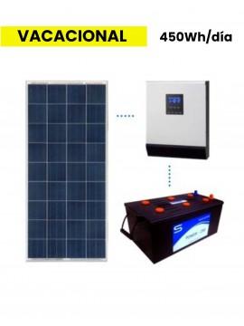 KIT SOLAR BASICO 450Wh/día MONOBLOC- a la venta en TECNOSOL
