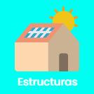 ESTRUCTURAS soporte para placas solares fotovoltaica