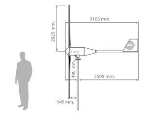 dimensiones-aerogenerador-Bornay-25.3_tecnosol