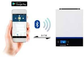 inversor-huber-connect-bluetooth_tecnosol