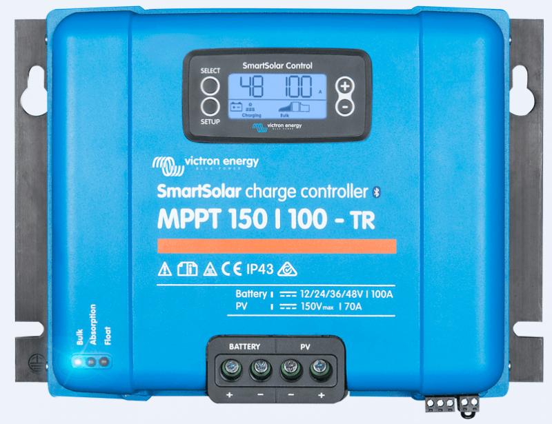 Regulador VICTRON SMARTSOLAR 150-100TR_TECNOSOL