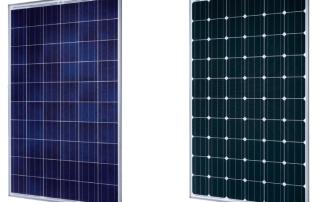 Tipos de paneles solares