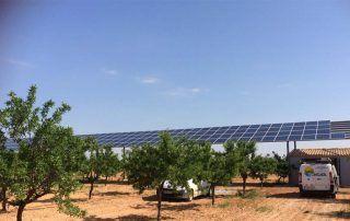 Funcionamiento de un bombeo solar
