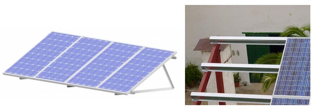 soporte para paneles solares - tienda online TECNOSOL