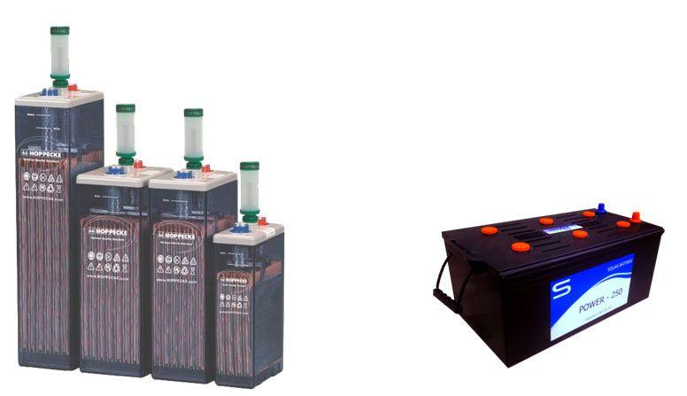 mantenimiento de baterías solares