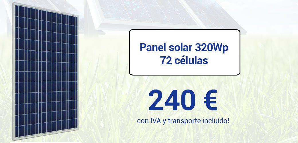 paneles solares SCL 320Wp
