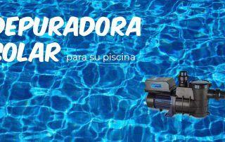 ponga una depuradora solar en su piscina - ofrecido por tienda online tecnosol