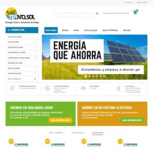 home nueva web TECNOSOL_tienda online ENERGÍA SOLAR