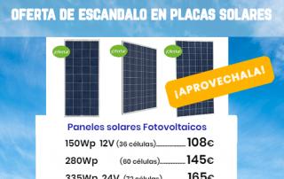 Oferta Placas solares en tienda online Tecnosol