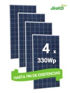 Pack Placas Solares JINKO 330wp en TECNOSOL