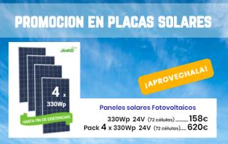 Promocion Pack Placas Solares en TECNOSOL