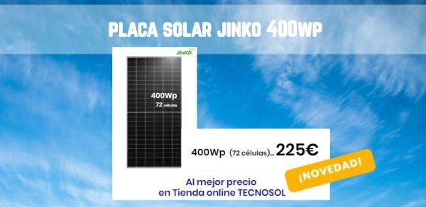 Nueva Placa Solar JINKO CHEETAH 400wp - BLOG Tecnosol