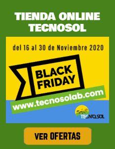 quincena black friday en tienda online TECNOSOL Albacete