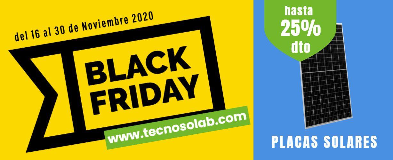 superoferta quincena black friday placas solares en tienda online TECNOSOL Albacete