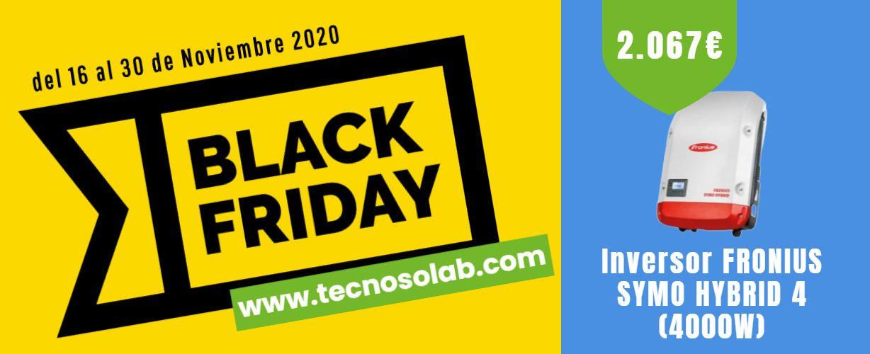 superoferta quincena black friday Inversores Autoconsumo en tienda online TECNOSOL