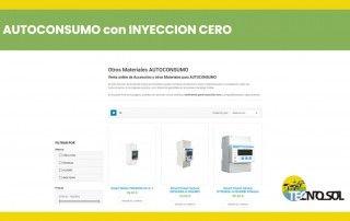 con qué vatímetro hacer inyección cero mi inversor de autoconsumo - post ofrecido por TECNOSOL Albacete