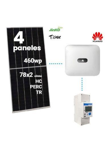 kit autoconsumo con inyección cero marca HUAWEI para 2kw a la venta en tienda online TECNOSOL Albacete