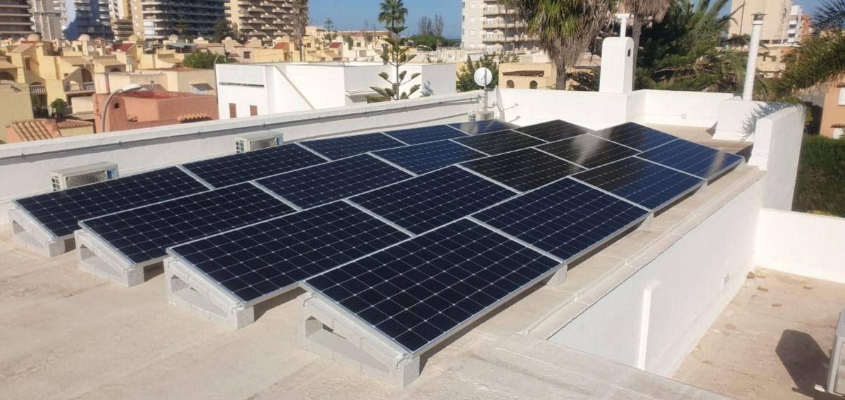 Orientación óptima placa solares - post ofrecido por TECNOSOL Albacete
