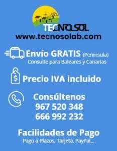 ventajas de comprar en la tienda online TECNOSOL Albacete