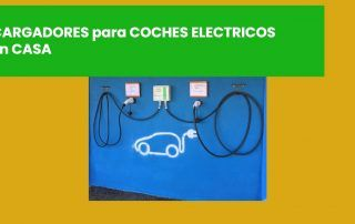 imagen portada post sobre cargadores para coches eléctricos del Blog de TECNOSOL Albacete