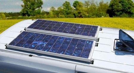 tejado autocaravana con placas solares - TECNOSOL ALBACETE